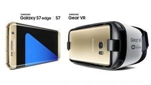 Samsung Galaxy S7 og Gear VR