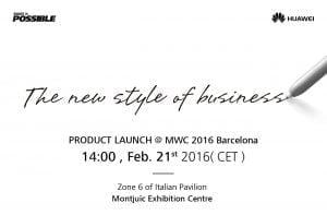 Huawei afholder event til MWC
