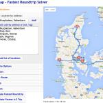 OpTiMap laver ruteplanlægning med flere stop (Foto: MereMobil.dk)