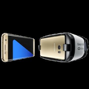 Galaxy S7 Edge med Gear VR (Foto: Samsung)