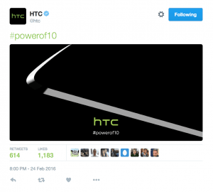 Teaser for HTC One M10 (Foto: HTC)
