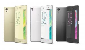 Sony Xperia X-serien (Foto: Sony Mobile)