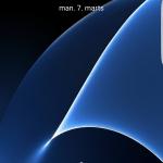 Screenshot fra Galaxy S7 Edge (Foto: MereMobil.dk)