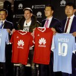 Lionel Messi har skrevet kontrakt med Huawei og bliver brandambassadør (Foto: Huawei)