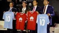 Huawei får ny brandambassadør og det er ingen ringere end verdens bedste fodboldspiller Lionel Messi.