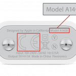 Redesignet A1400 oplader (Foto: Apple)