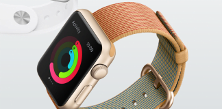 Apple Watch med nylon-rem (Foto: Apple)