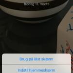 Screenshots - sådan laver du Live Photos til baggrund (Kilde: MereMobil.dk)