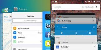iOS 9 og Android multitasking (Foto: Valuewalk.com)