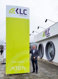 Keld Scheel, kædedirektør i KLC Erhverv ved åbningen (Foto: KLC Erhverv)