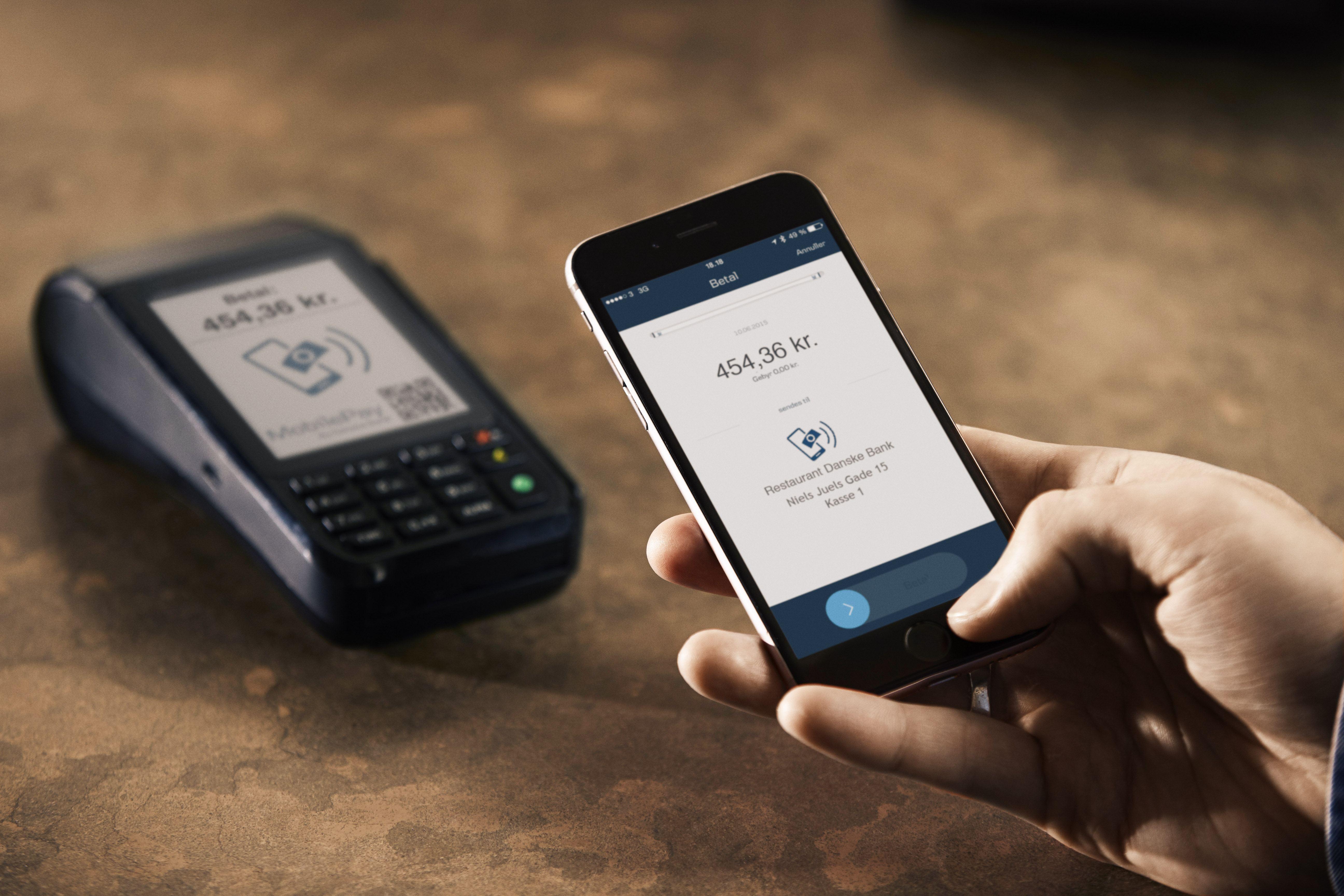 Danske Bank advarer mod fup-SMS fra MobilePay