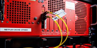 Netflix cache-server hos 3 (Foto: 3)
