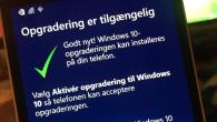 Nu kan de første, også i Danmark, begynde at opdatere Lumia-telefonerne til Windows 10 Mobile.