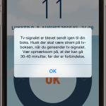 Screenshots fra Viasat Sommerhus applikation