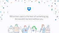 KORT NYT: Der er ingen tvivl om, at Dropbox er blevet en populær Cloud-tjeneste. Den seneste opgørelse viser, at der nu er mere end 500 millioner brugere.