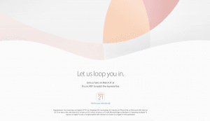 Apple Lets Loop You In Event