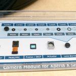 Kameramodul-komponenter til Sony Xperia (Foto: MereMobil.dk)