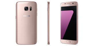 Samsung Galaxy S7 og Galaxy S7 Edge i Pink Gold (Foto: Samsung)