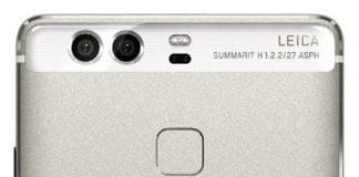 Lækket billede af Huawei P9 viser kameraet på bagsiden og samarbejdet med Leica (Foto: GSMArena.com)