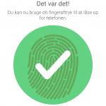 HTC 10 - fingeraftrykslæser