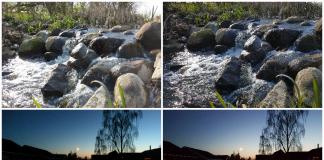 Fotosammenligning. HTC 10 til venstre. Samsung Galaxy S7 til højre (Foto: MereMobil.dk)
