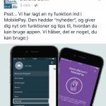 """Screenshots der viser hvordan man finder """"Skjulte"""" beskeder på Facebook (Foto: MereMobil.dk)"""