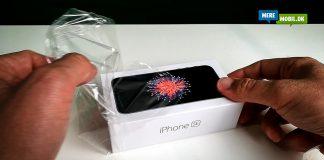 iPhone SE unbox (Foto: MereMobil.dk)