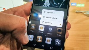 Press Touch på Huawei P9 Plus (Foto: MereMobil.dk)