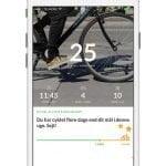 "Screenshots fra applikationen ""Ta' Cyklen"""