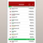 Betalingsservice-applikationen (Kilde: Betalingsservice/Nets)