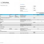Dokument over komponenterne i iPhone SE fra analysefirmaet IHS (Foto: Businesswire.com)