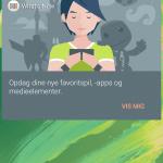 Screenshot fra Sony Xperia X (Foto: MereMobil.dk)