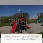 """Screenshots af funktionen """"Skjult"""" i Foto-applikationen på iPhone (Foto: MereMobil.dk)"""