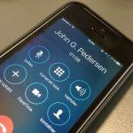 """Sådan sætter du opkald på """"hold"""" på din iPhone (Foto: MereMobil.dk)"""