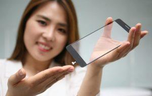 LG arbejder på fingeraftrykslæser under glasset (Foto: LG)