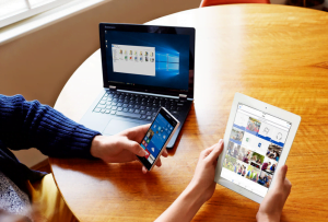 Microsoft smartphone tablet OneDrive