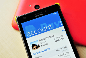 PayPal på Windows Phone
