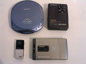 Sony Walkman Family (Kilde: Wikipedia)