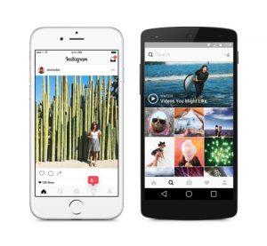 Nyt ikon og design til Instagram (Foto: Instagram)