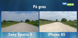 Videotest: Sony Xperia X og iPhone 6S (Foto: MereMobil.dk)
