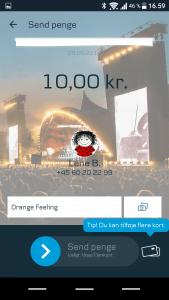 Roskilde Festival branding af MobilePay (Foto: MereMobil.dk)