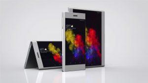 Lenovo Folio, en smartphone der kan blive til tabletstørrelse