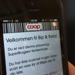 Bip & Betal i SuperBrugsen (Foto: MereMobil.dk)