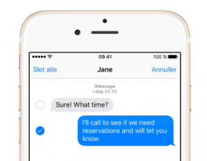 iMessage (Foto: Apple)