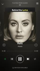 """Adele's album """"25"""" er nu at finde i Spotify og andre streamingtjenester (Foto: MereMobil.dk)"""