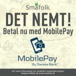 Betal med MobilePay på hos Småfolk (Foto: Småfolk)