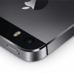 iPhone 5S i farven Space Gray