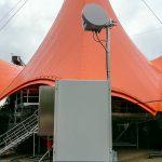 Basestation bag Orange Scene på Roskilde Festival 2016 (Foto: MereMobil.dk)