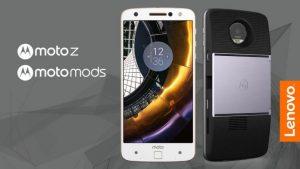 Moto Z fra Lenovo med MotoMods (Foto: Lenovo/Motorola)