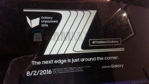 Samsung Galaxy Note 7 Edge præsenteres måske til Samsung Unpacked 2016 den 2. august (Kilde: Sammobile.com)